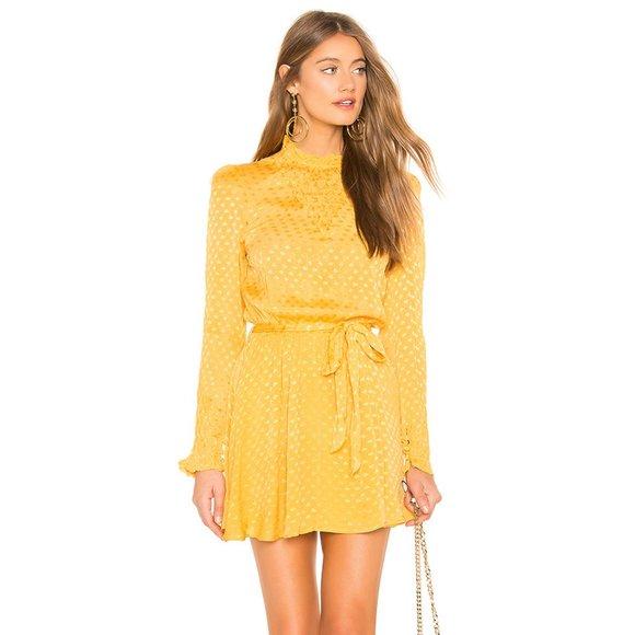 Tularosa Dresses & Skirts - Tularosa Gianna Dress in Mustard